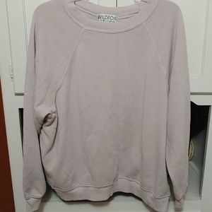 Pale lilac WILDFOX sweater